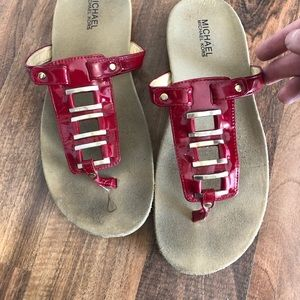 Authentic Micheal Kors sandals
